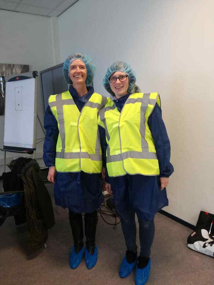 Bezoek Yarrah fabriek
