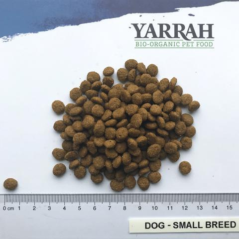 Grootte korrel Yarrah small breed Klein