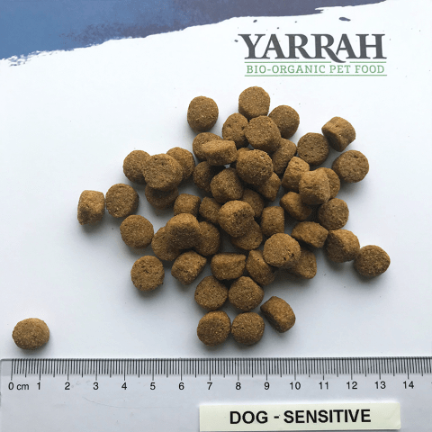 Grootte korrels Yarrah Sensitive