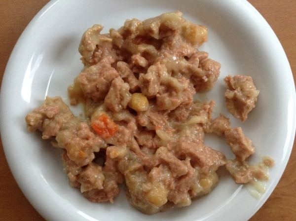 Yarrah chunks kip en groenten met chicorei open vlootje