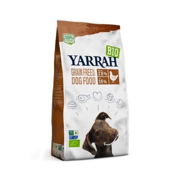 Filova biologisch hondenvoer - Yarrah Grain Free Hond Brok 2kg
