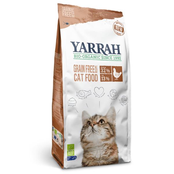 Filova biologisch kattenvoer - Yarrah Graanvrij kattenvoer