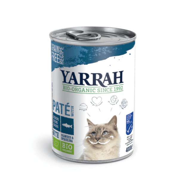 Yarrah Paté Haring met Zeewier en Spirulina