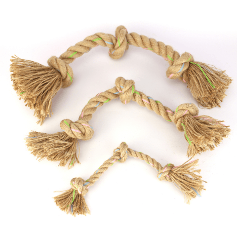 Filova natuurlijk hondenspeelgoed Beco Rope Jungle Triple Knot