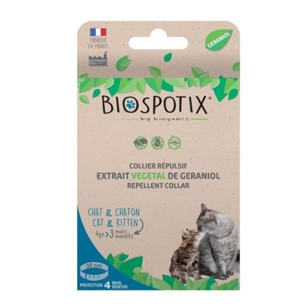 Filova duurzame kattenwinkel - Biospotix anti-vlo en teken halsband kat