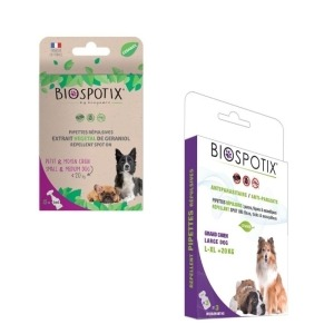 Filova ecoshop honden en katten - Biospotix anti-vlo en teken pipet hond