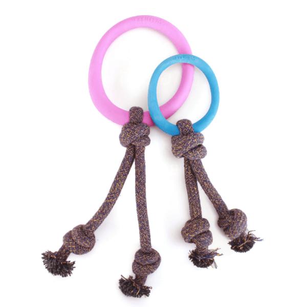 Filova ecologische speeltjes Beco Hoop On A Rope large en small