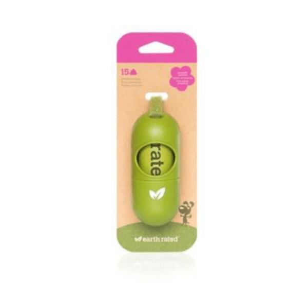 Filova de eco hondenshop EarthRated®riemdispenser voor poepzakjes (incl. zakken met lavendelgeur)