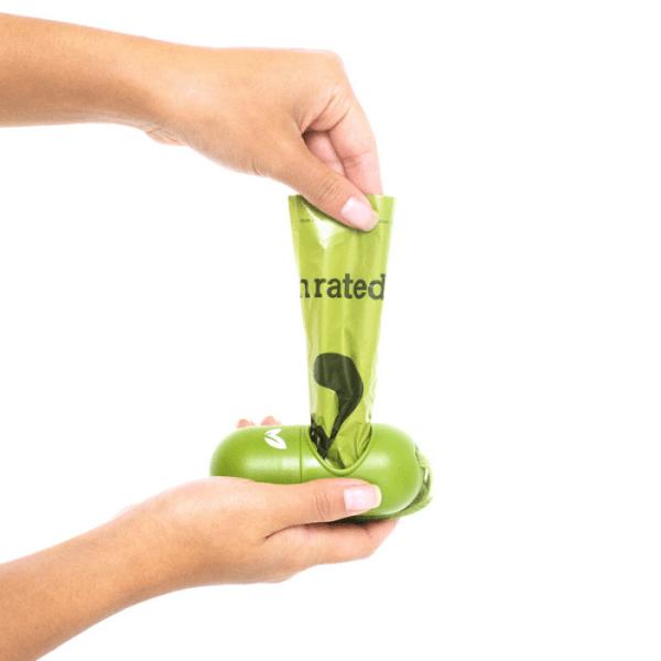 Filova gaat voor een betere leefbare wereld Earth Rated® poepzakjes