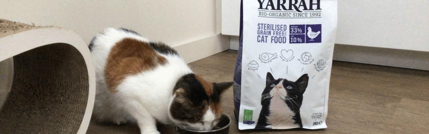 Filova kattenvoer Yarrah voor de gesteriliseerde katten
