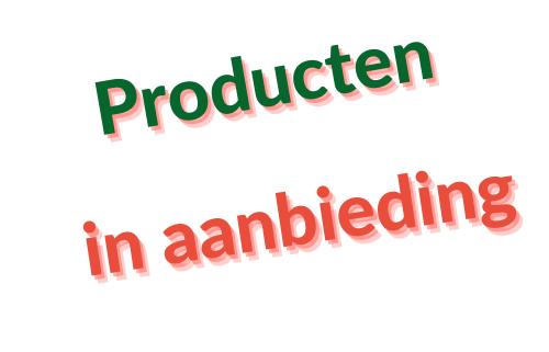 Filova webshop Producten in aanbieding