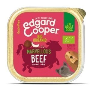 Filova biologische dierenwinkel Edgard & Cooper biorund met biokokosnoot & biochiazaad 100g